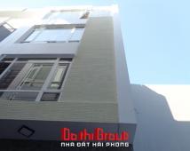Bán nhà 4 tầng khu phân lô đường Văn Cao, Hải Phòng