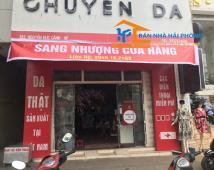 Sang nhượng mặt bằng quán Chuyên Da số 129 Nguyễn Đức Cảnh, Lê Chân, Hải Phòng