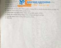 Chuyển nhượng lô đất tại Phù Liễn, Kiến An, Hải Phòng