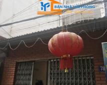 Bán nhà số 78/262 Trần Nguyên Hãn, Lê Chân, Hải Phòng