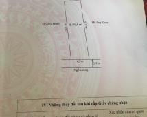 Bán đất tổ 7 thị trấn An Dương thành phố Hải Phòng giá 440 triệu