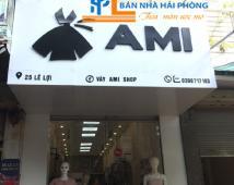 Sang nhượng cửa hàng quần áo Ami số 25 Lê Lợi, Ngô Quyền, Hải Phòng