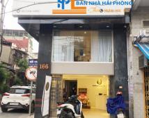 Cho thuê tầng 1 nhà mặt đường số 166 Chùa Hàng, Lê Chân, Hải Phòng