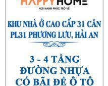 Bán căn góc duy nhất khu dân cư trẻ PL31 Phương Lưu, Hải an, Hải Phòng.