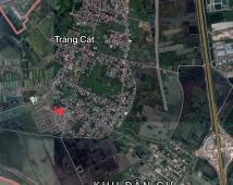 Chuyển nhượng 2 lô đất Tái định cư sân bay Cát Bi - P. Tràng Cát - Quận Hải An - HP