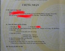Bán đất Quỳnh Hoàng xã Nam Sơn huyện An Dương Hải Phòng. Gía 650 triệu