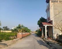 Bán đất tổ 6 thị trấn An Dương, vị trí chung cư sau trường cơ động