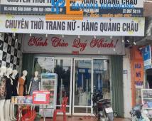 Sang nhượng cửa hàng thời trang nữ số 448 Mạc Đăng Doanh, Dương Kinh, Hải Phòng