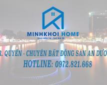 Bán đất mặt đường Máng, thuộc bãi Huyện Vân Tra, An Đồng