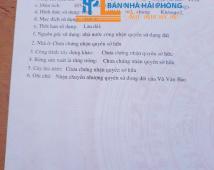 Chuyển nhượng lô đất tại Đại Trang, Bát Trang, An Lão, Hải Phòng