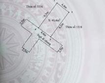 Bán lô đất ngõ Cát Khê , Tràng Cát 41m2 giá chỉ 420 triệu.  LH  0344563993