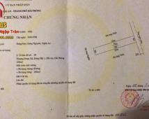 Bán đất mặt ngõ ô tô Bùi Thị Từ Nhiên, Đông Hải.100m2. Giá 1,6 tỷ