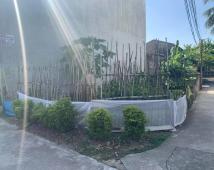 Bán đất 61m2 2 mặt tiền, Trương Văn Lực. Giá 900 triệu, lh 0968448807