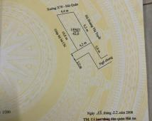 Bán đất ngõ Phủ Thượng Đoạn, 42m2. Giá 840tr