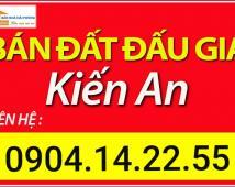 Bán đất phân lô đấu giá quận Kiến An – LH 0904.14.22.55