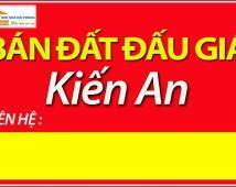 Bán đất đấu giá 3 khu Đồng Hòa,Khúc Trì,Kha Lâm-Kiến An-HP.