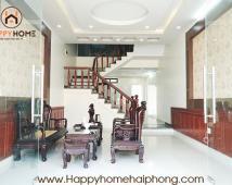 Bán nhà dân xây độc lập, đường trải nhựa 5m trung tâm Đằng Lâm, Hải An, Hải Phòng.