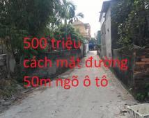 Bán lô đất 52m2 tại Cống Mỹ , Nam Sơn , An Dương giá 500tr LH : 0782051093