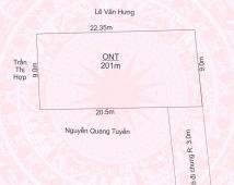 Bán lô đất thôn Lâu Trại, xã Hoa Động, Thuỷ Nguyên, diện tích 201m2