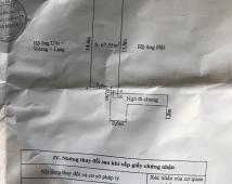 Bán đất ngõ ô tô đường Đông Hải, 67,55m2. Giá 743tr