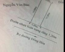 Bán đất ngõ Mỹ Thịnh, Đồng Hòa, Kiến An