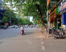 Bán nhà mặt đường Trần Nguyên Hãn, vị trí đẹp, lô góc cạnh ngõ, vỉa hè rộng 5m