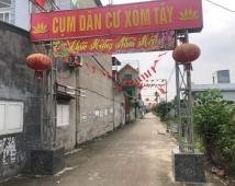 Bán lô đất xóm Tây ngay chợ Hoàng Mai,diện tích 125 m2 khu Đồng Thái,An Dương,lh sđt 0981 265 268 để xem đất
