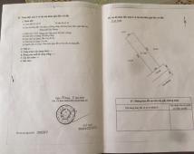 Bán đất TĐC Đồng Giáp 72m2, Giá 2,2 tỷ.